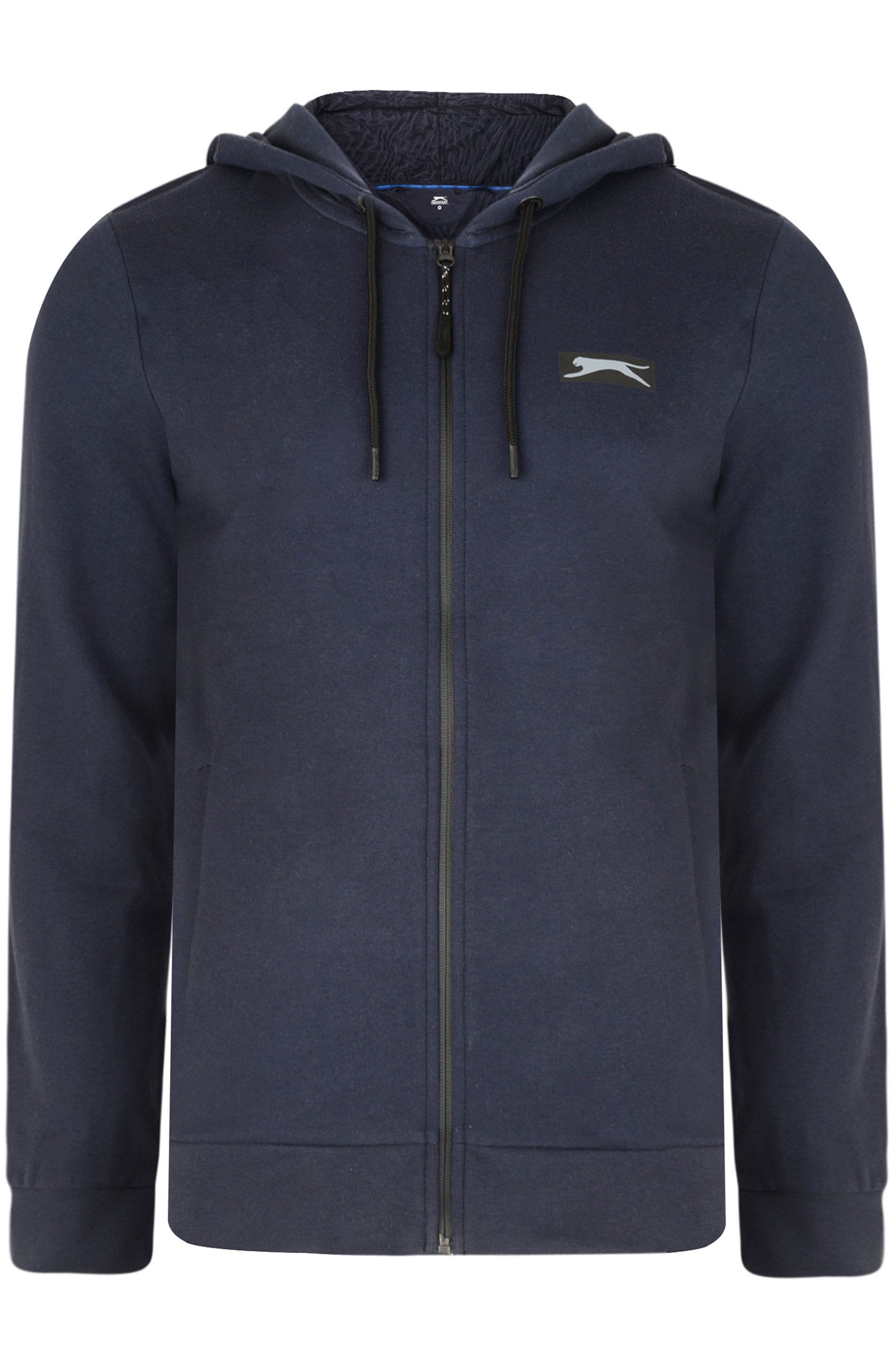 SLAZENGER Navy Zip Through Hoodie