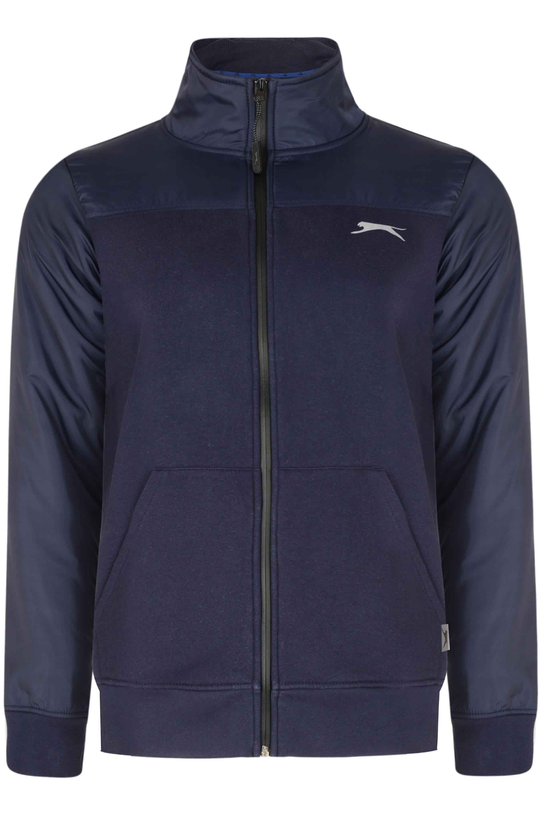 SLAZENGER Navy Panelled Jacket