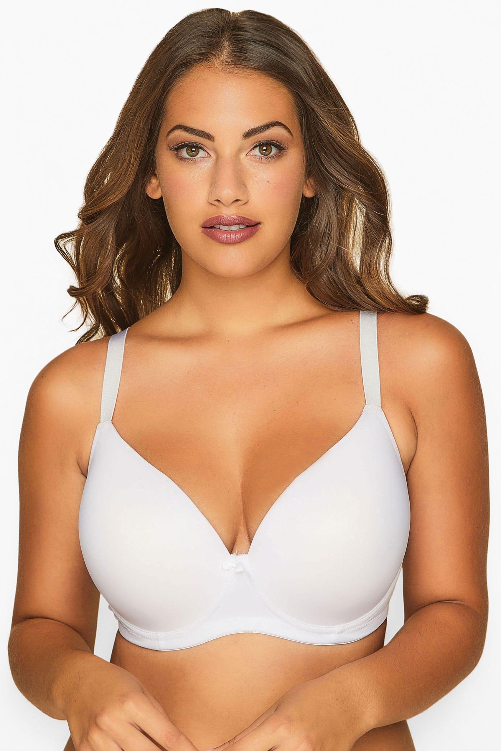 White Moulded T-Shirt Bra - Best Seller