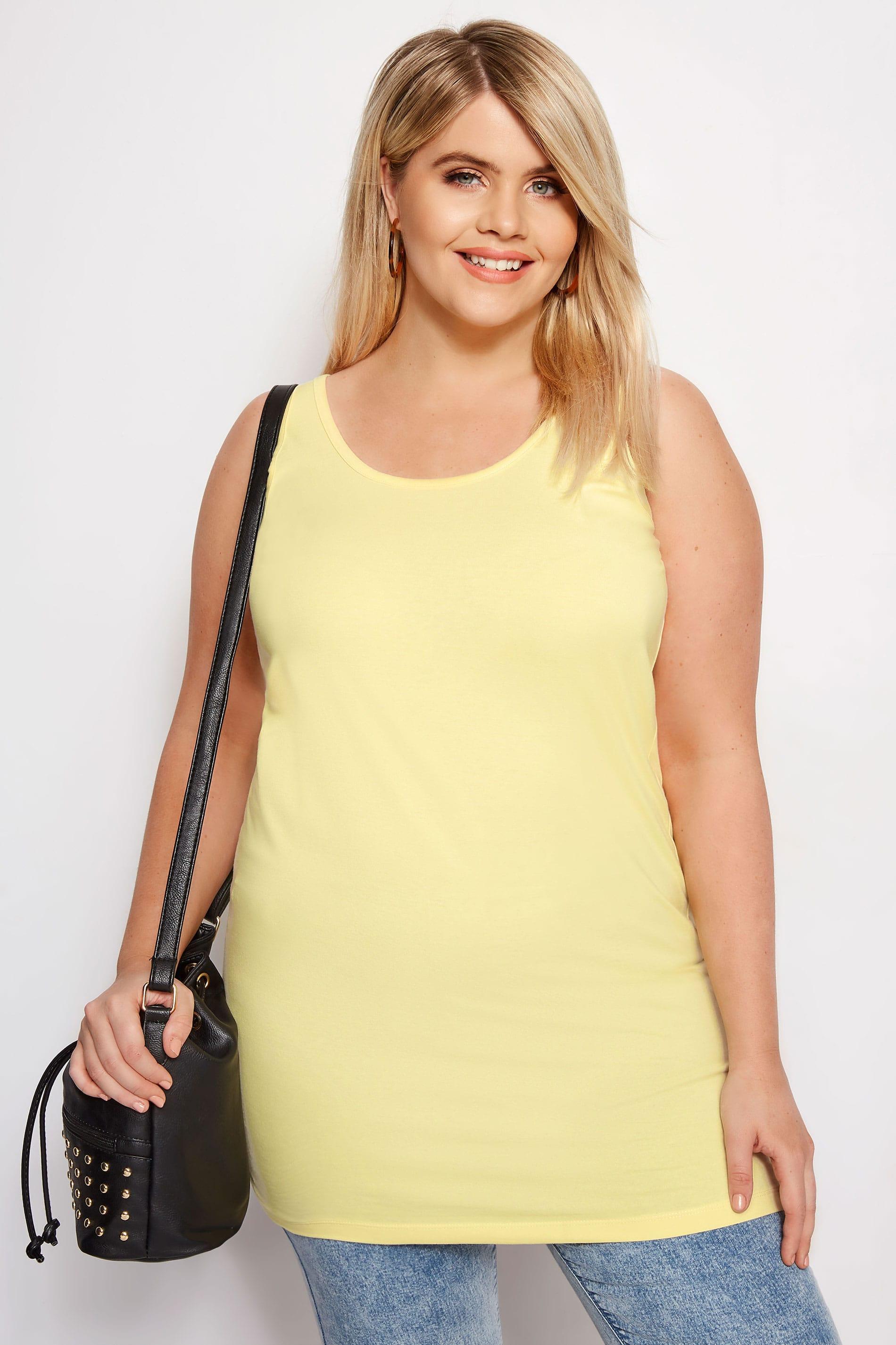 Yellow Longline Vest