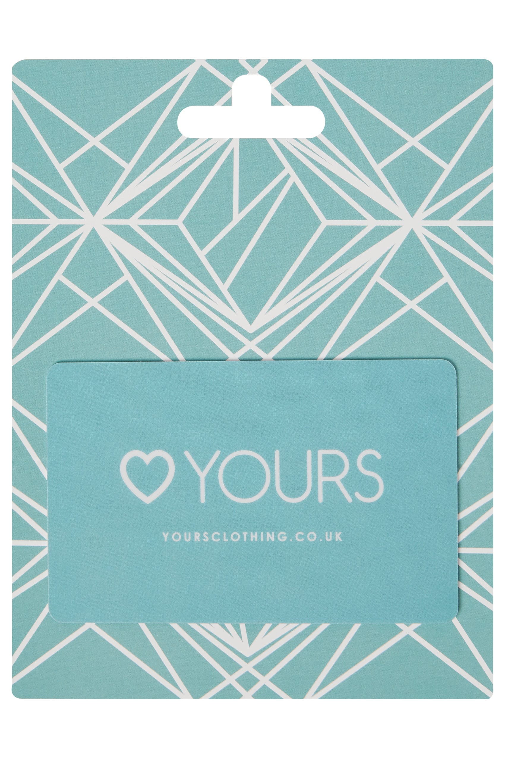 Yours Clothing Geometric Gift Card