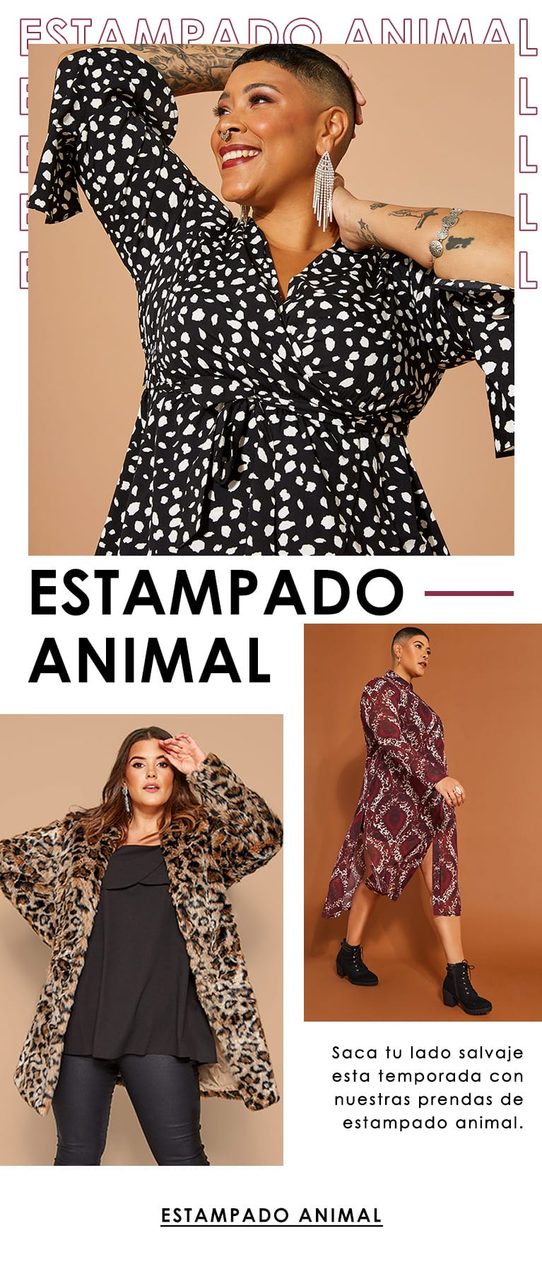 estampado animal >