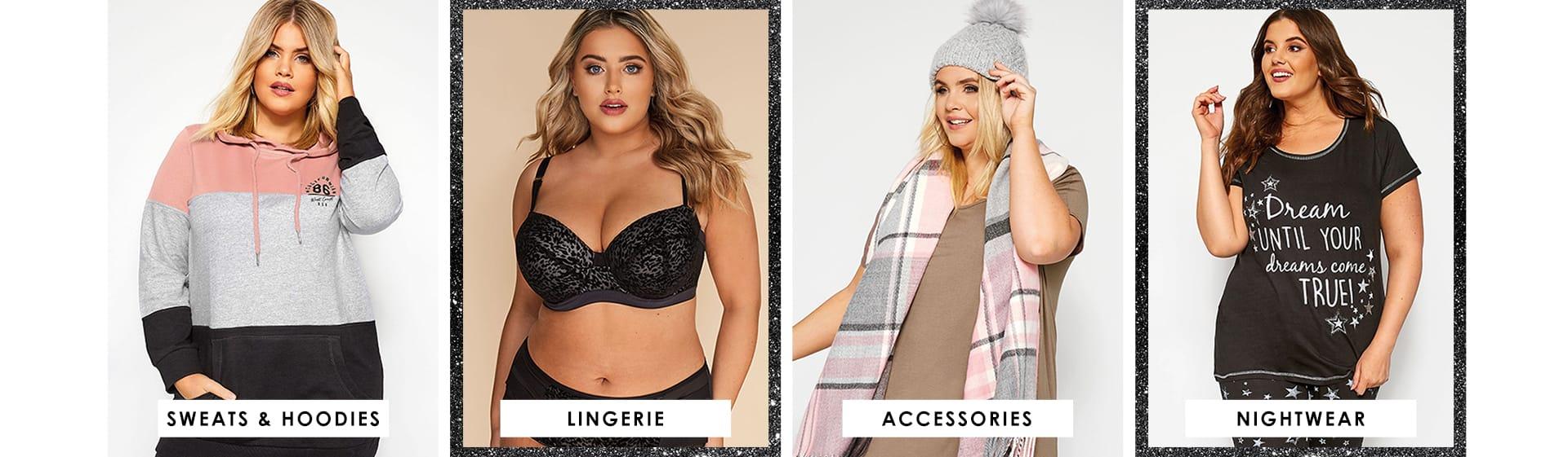 Sweats & hoodies - lingerie - accessories - nightwear
