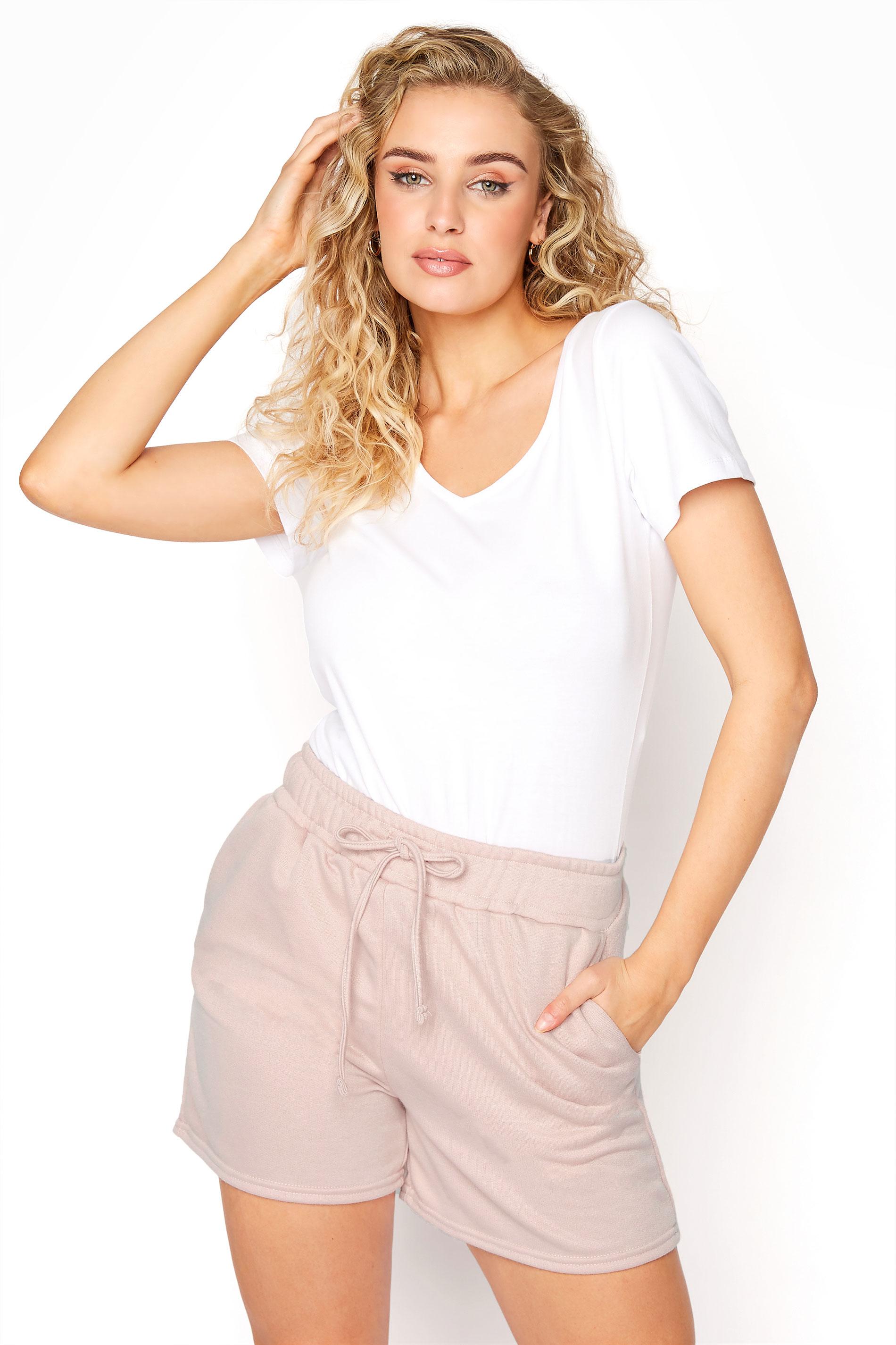 LTS Blush Pink Jersey Sweat Shorts_A.jpg