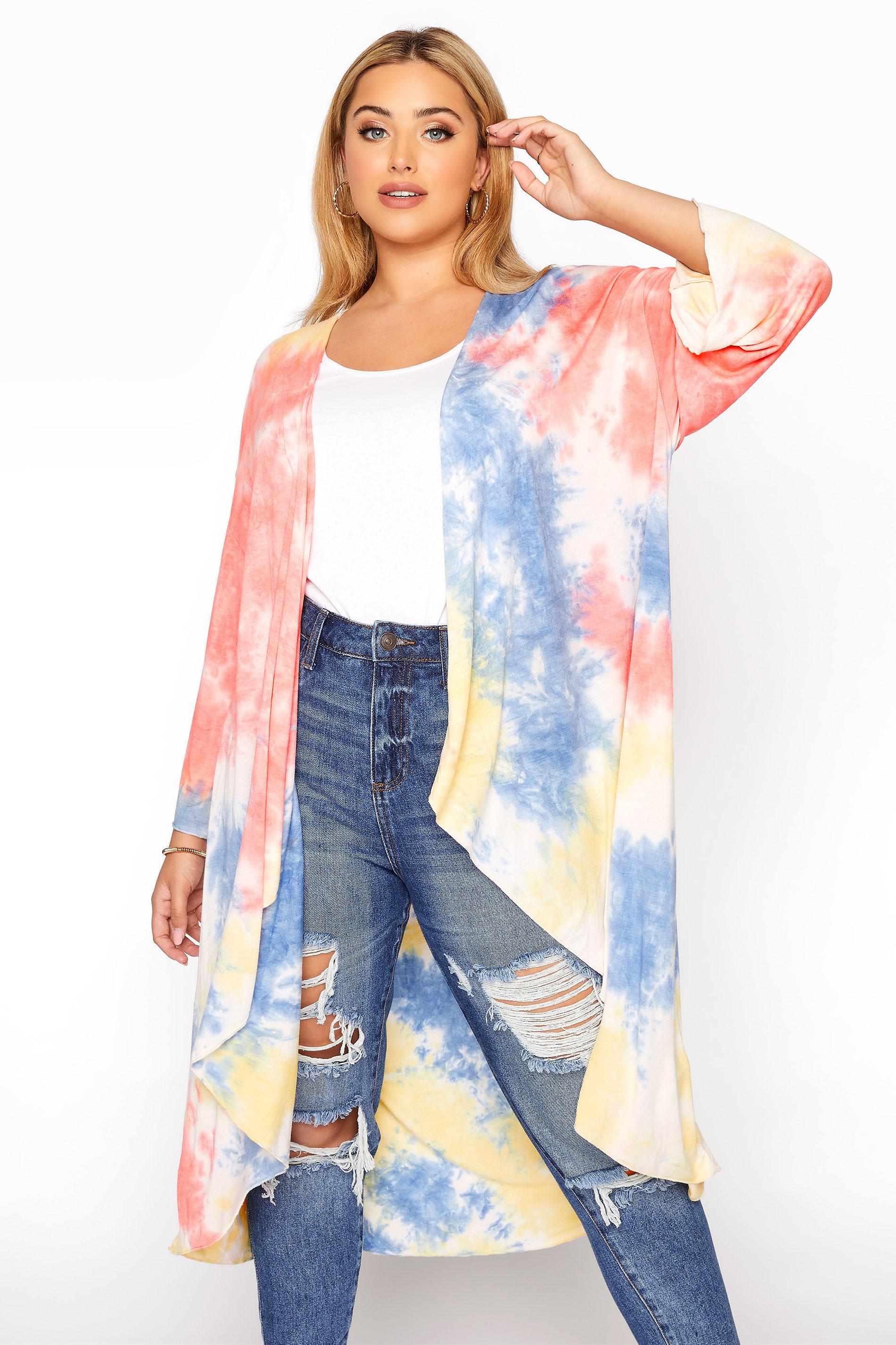 Multicoloured Tie Dye Kimono_A.jpg