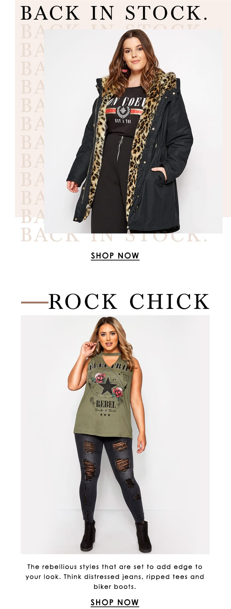 Rock Chick - Back in Stock