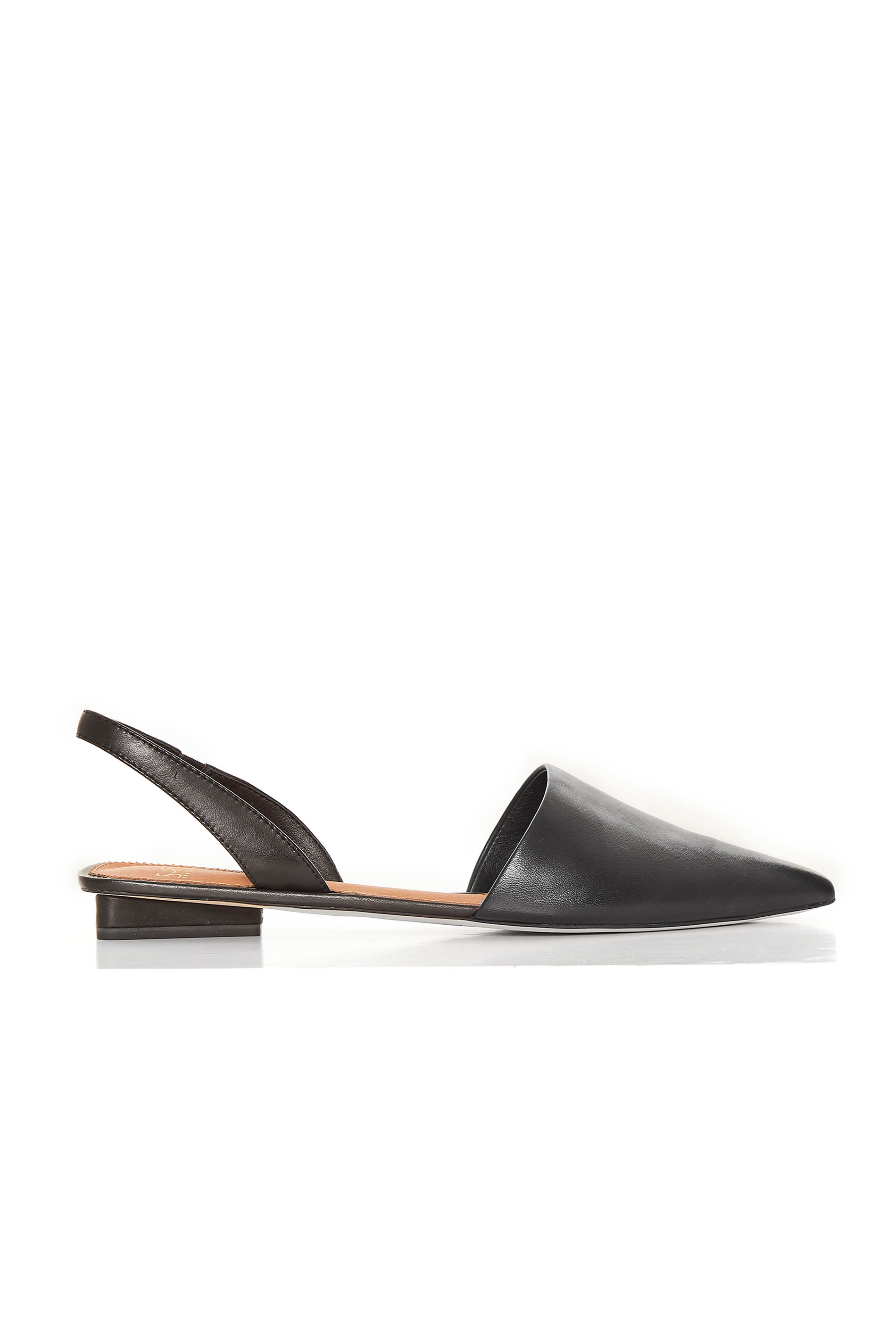 SARTO Black Slingback Graydon Sandals