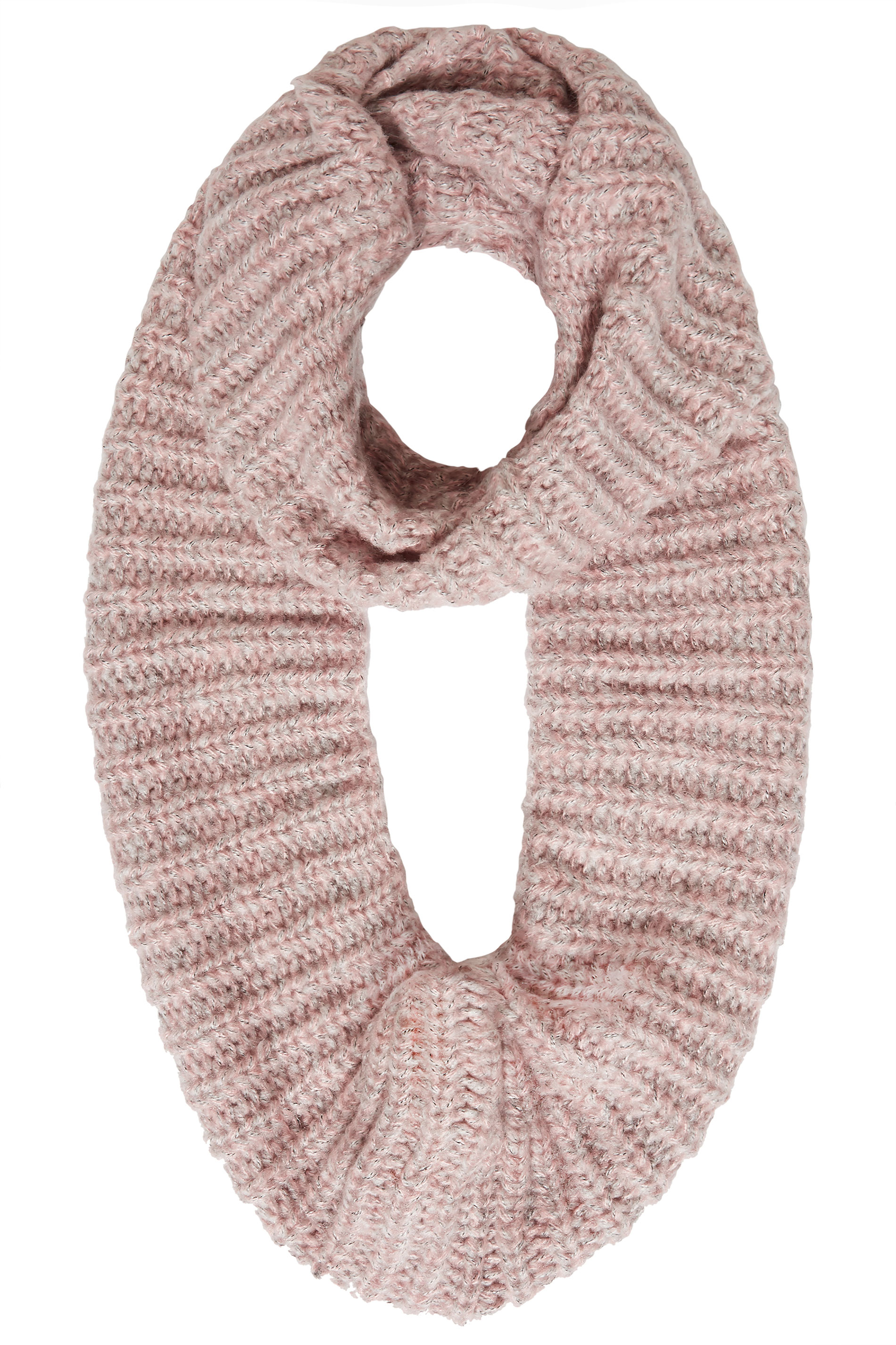 Pink Knitted Snood