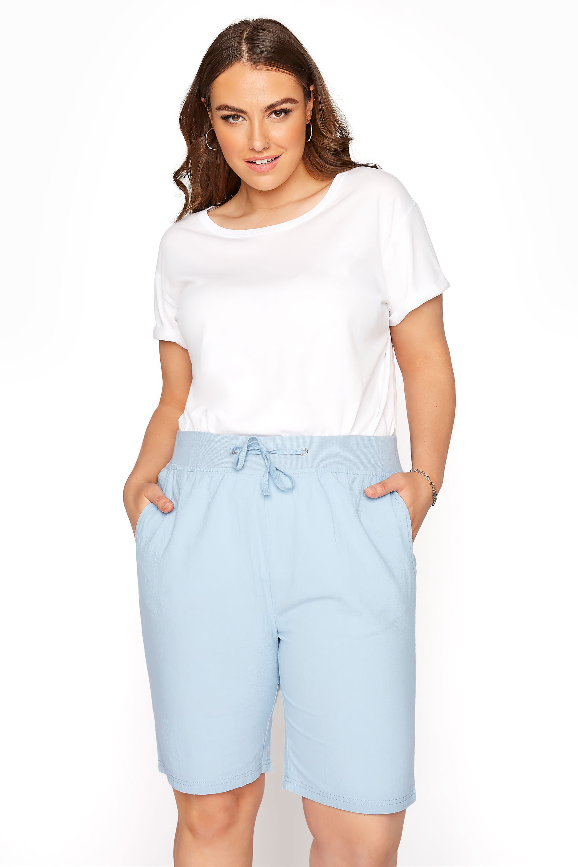 Pale Blue Cool Cotton Shorts_A.jpg