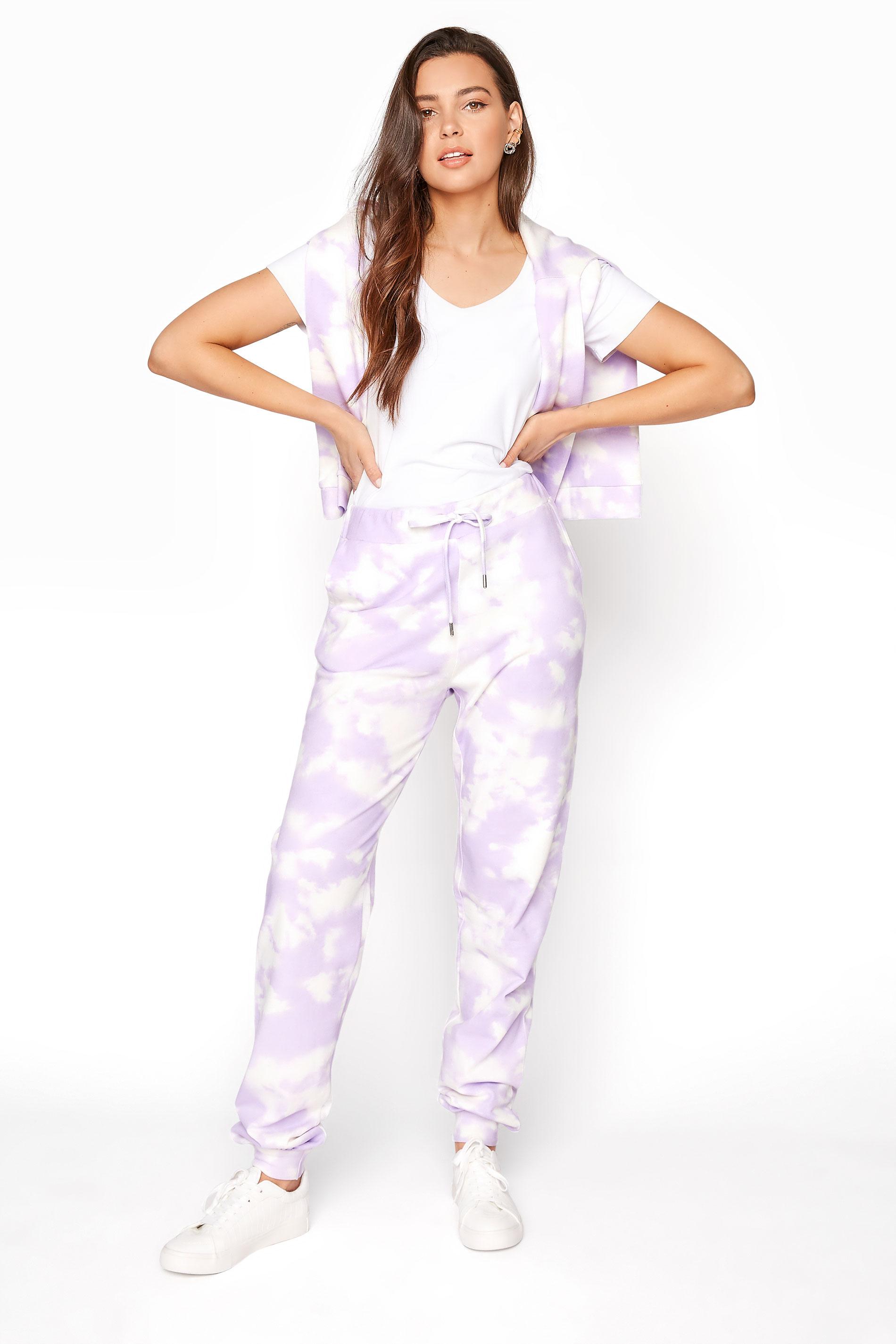 LTS Lilac Tie Dye Joggers