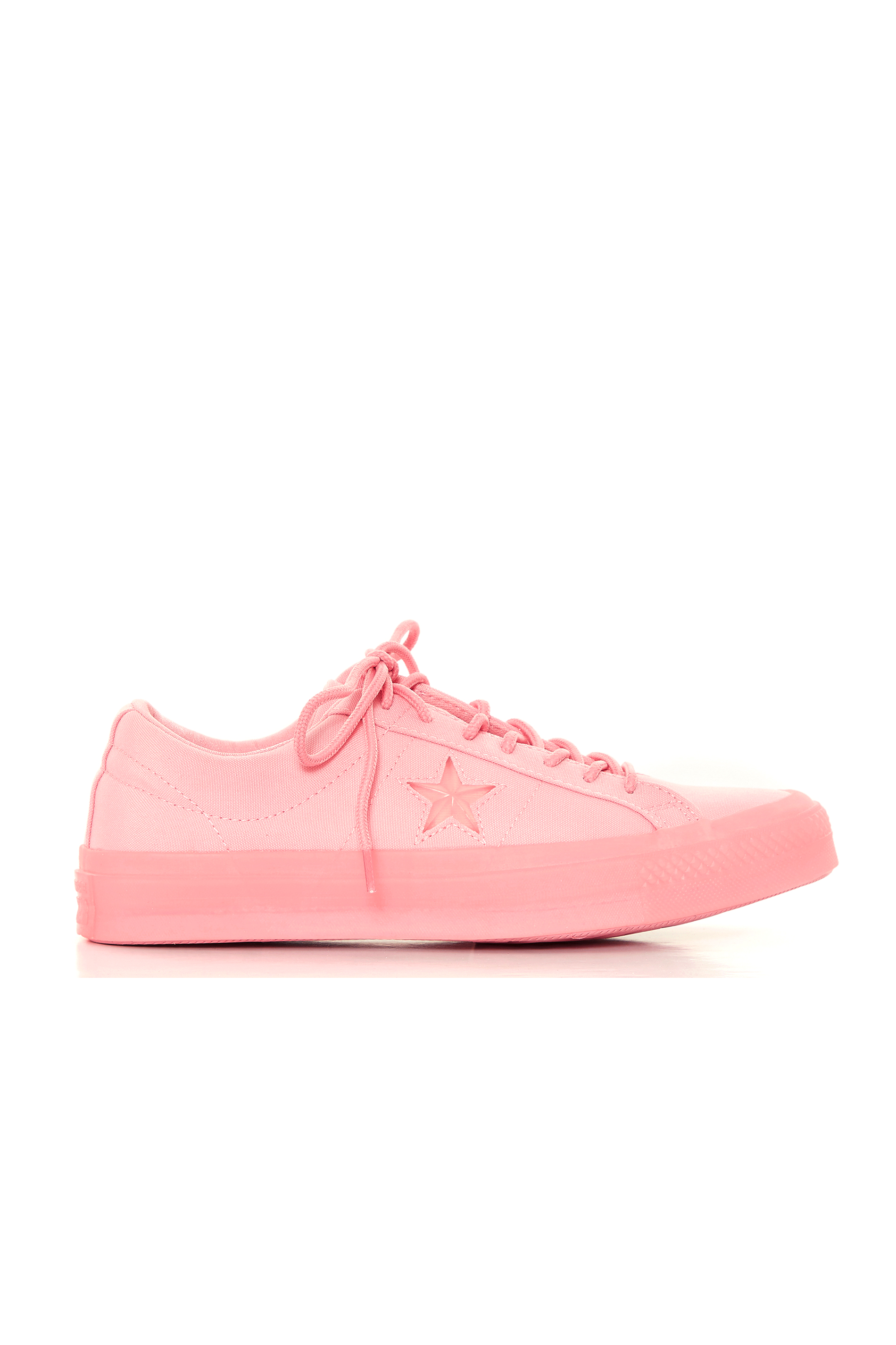 CHUCK TAYLOR Pink Lace Up Trainers
