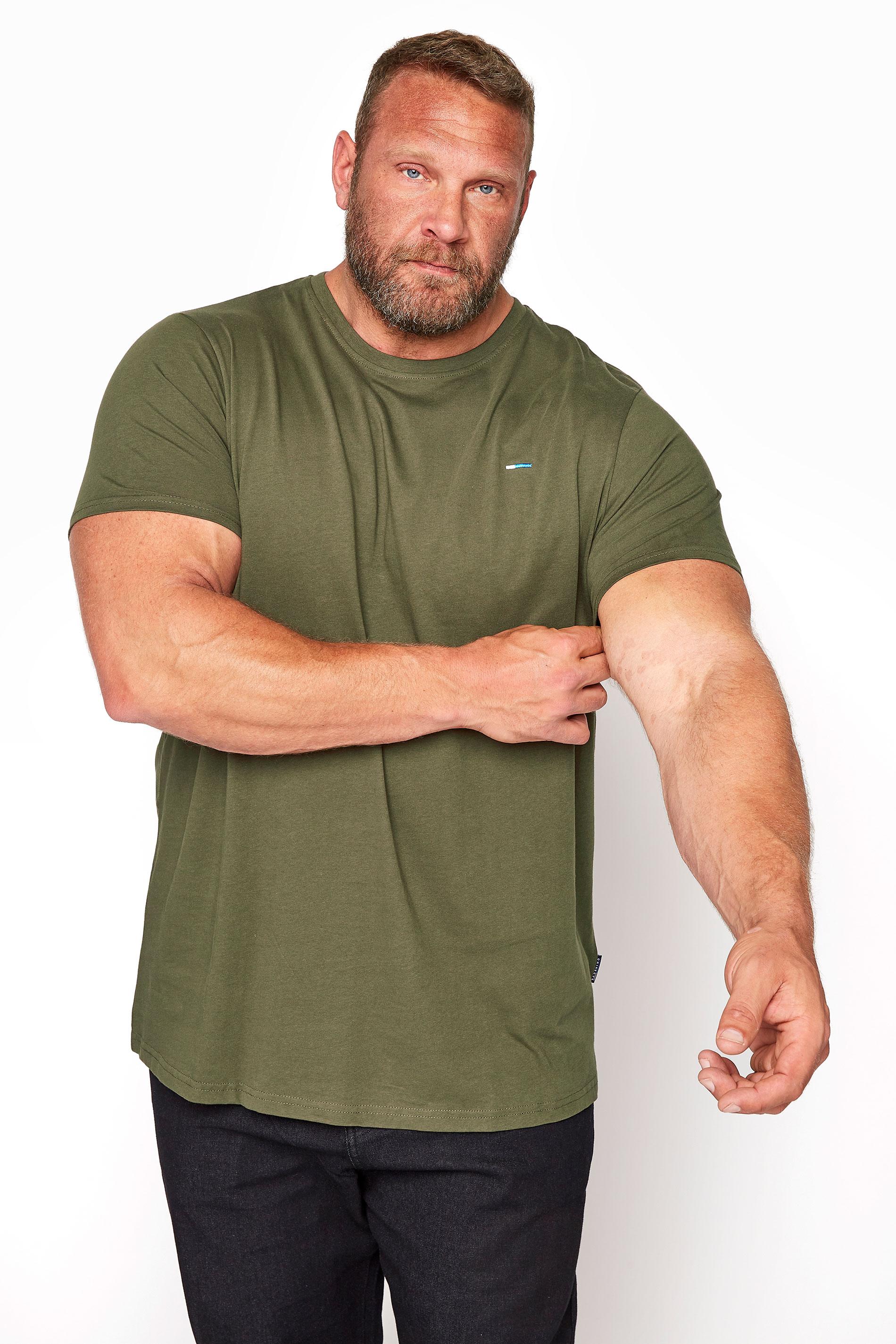 BadRhino Khaki Plain T-Shirt_M.jpg