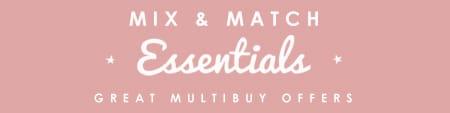 Mix & Match Yours Essentials