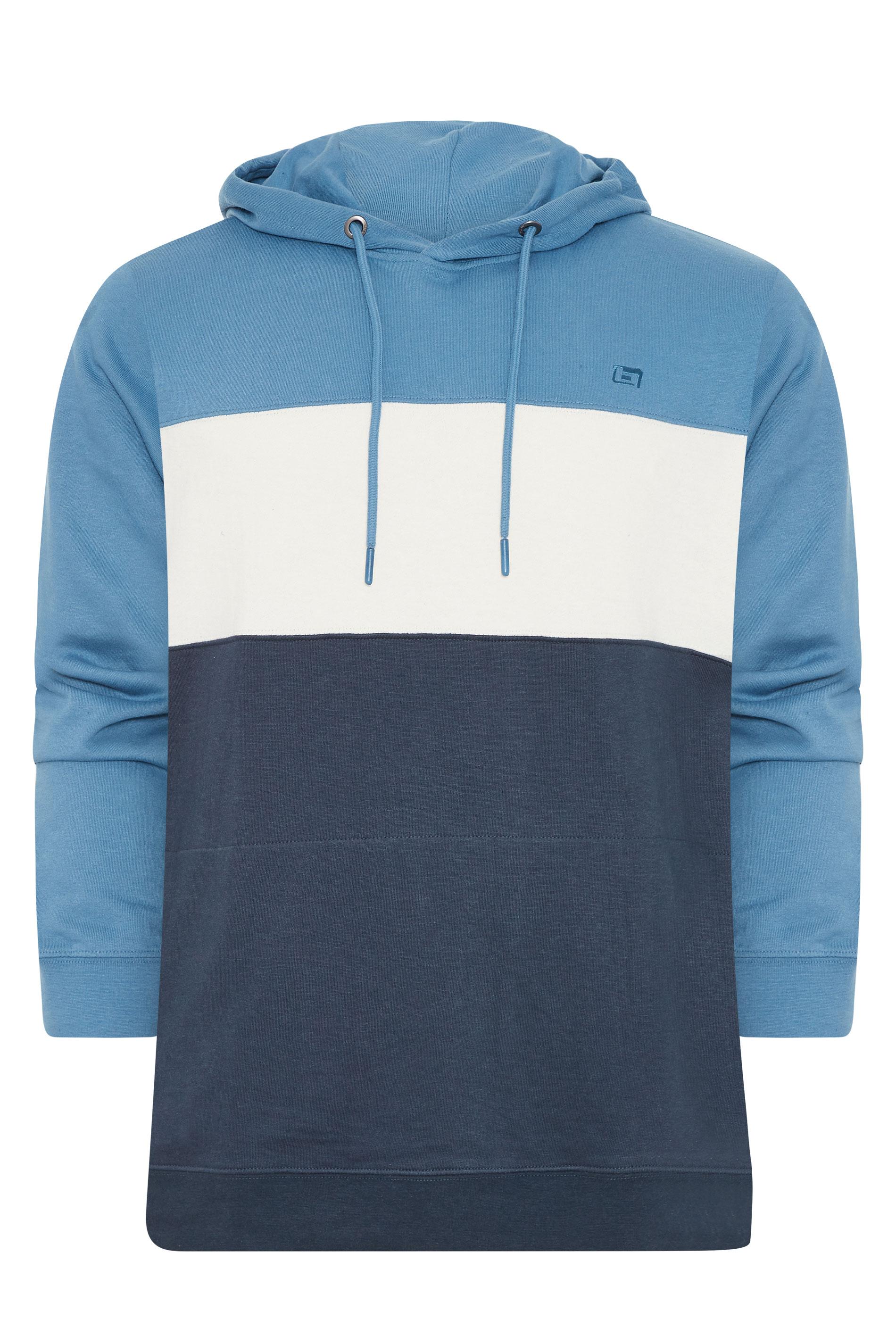 BLEND Blauer Colour Block Hoodie