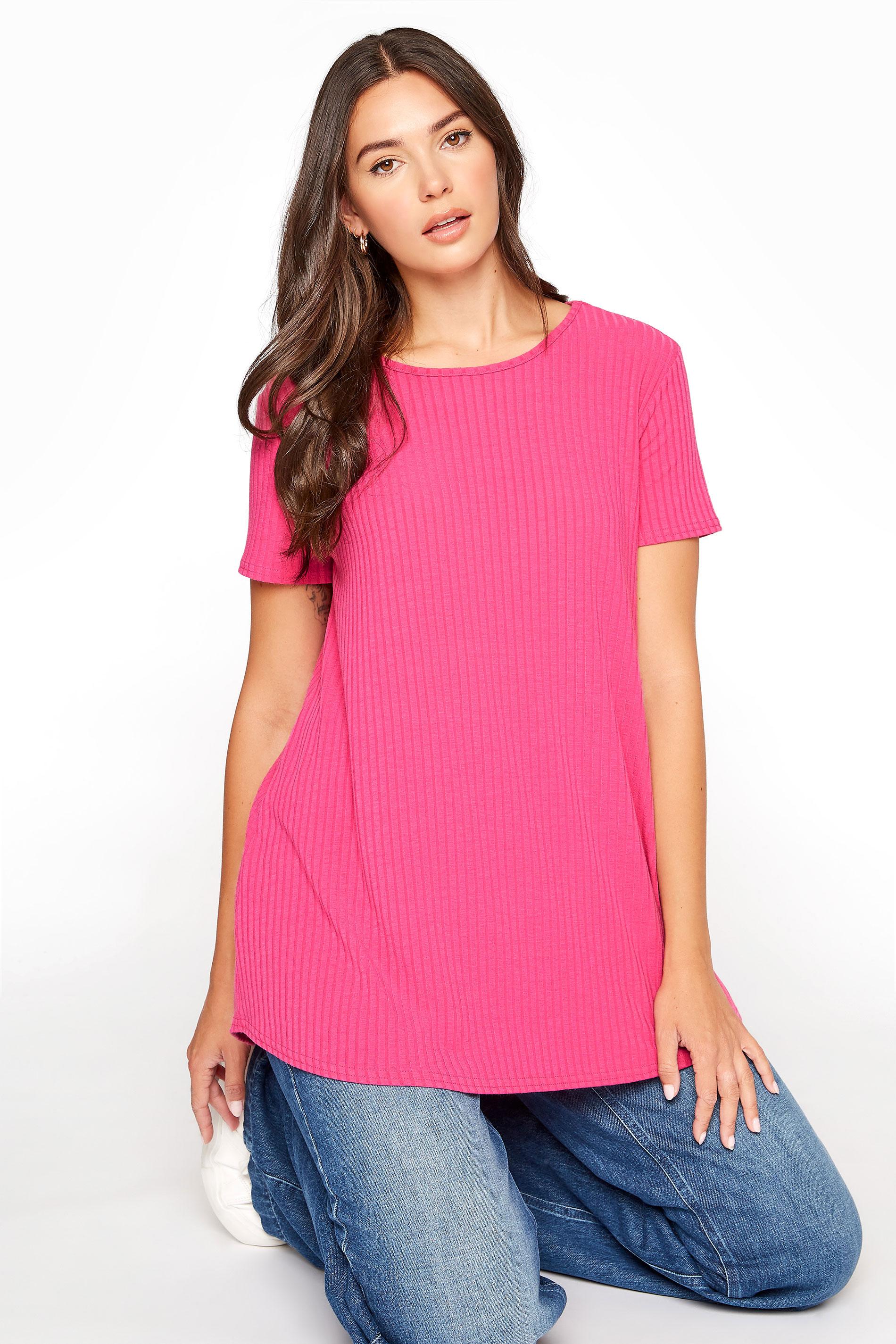 LTS Hot Pink Swing T-Shirt_A.jpg
