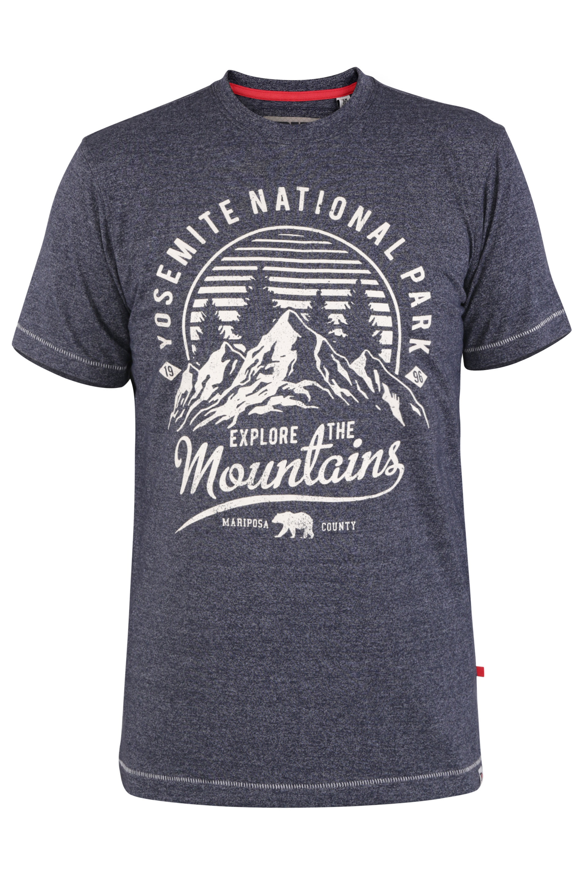 D555 Navy Yosemite Print T-Shirt_F.jpg