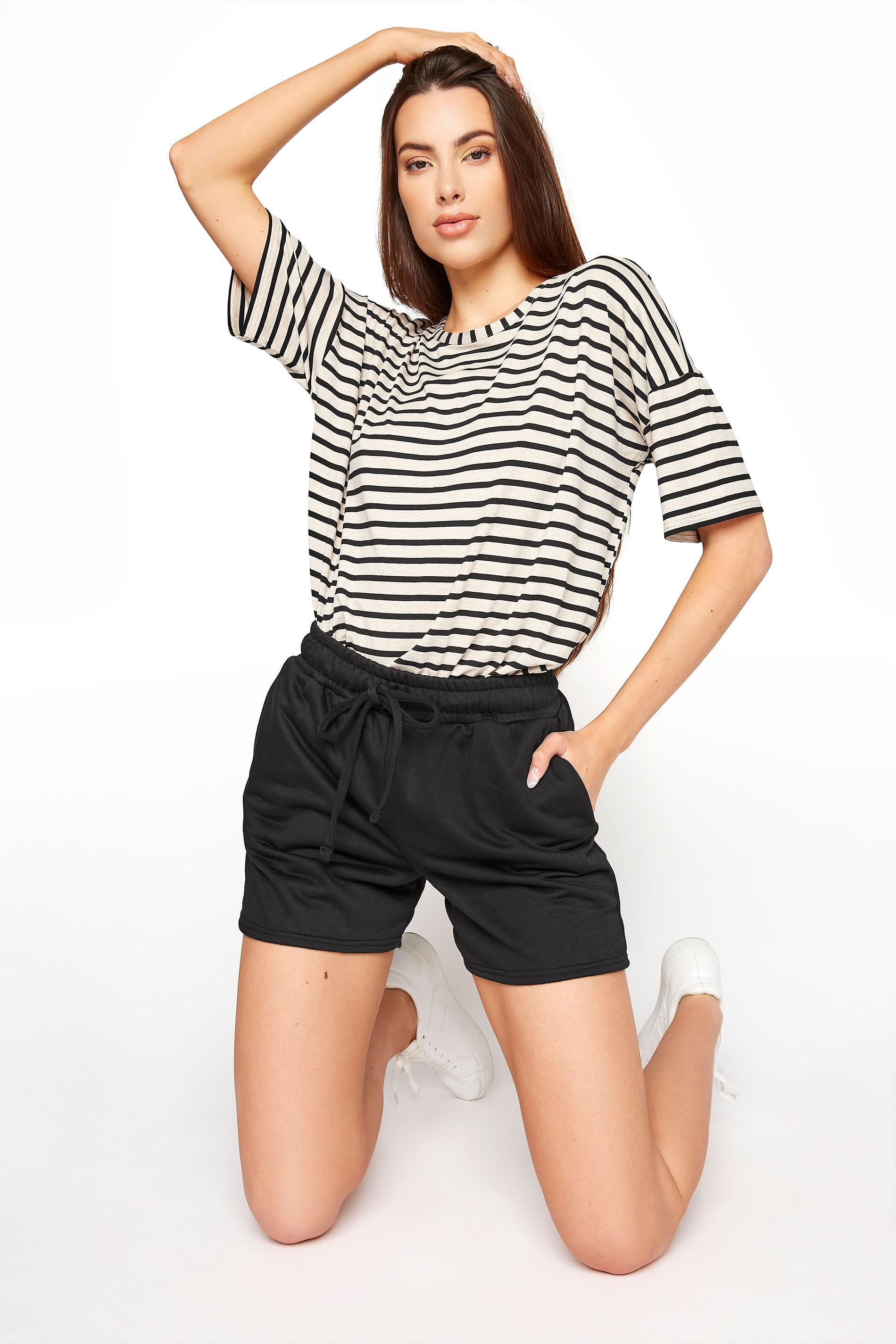LTS Black Jersey Sweat Shorts_A.jpg