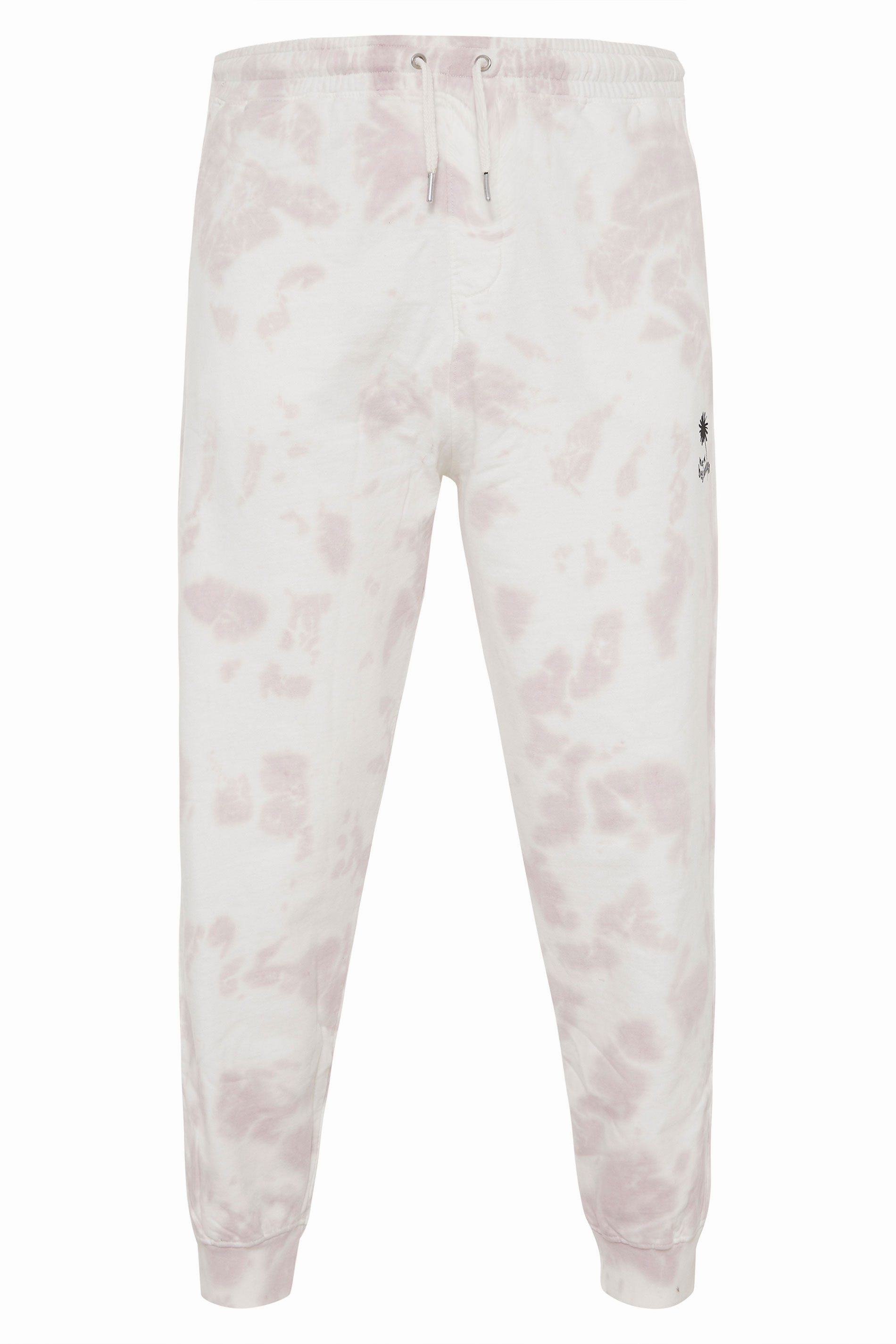 ANOTHER INFLUENCE White Tie Dye Joggers_F.jpg