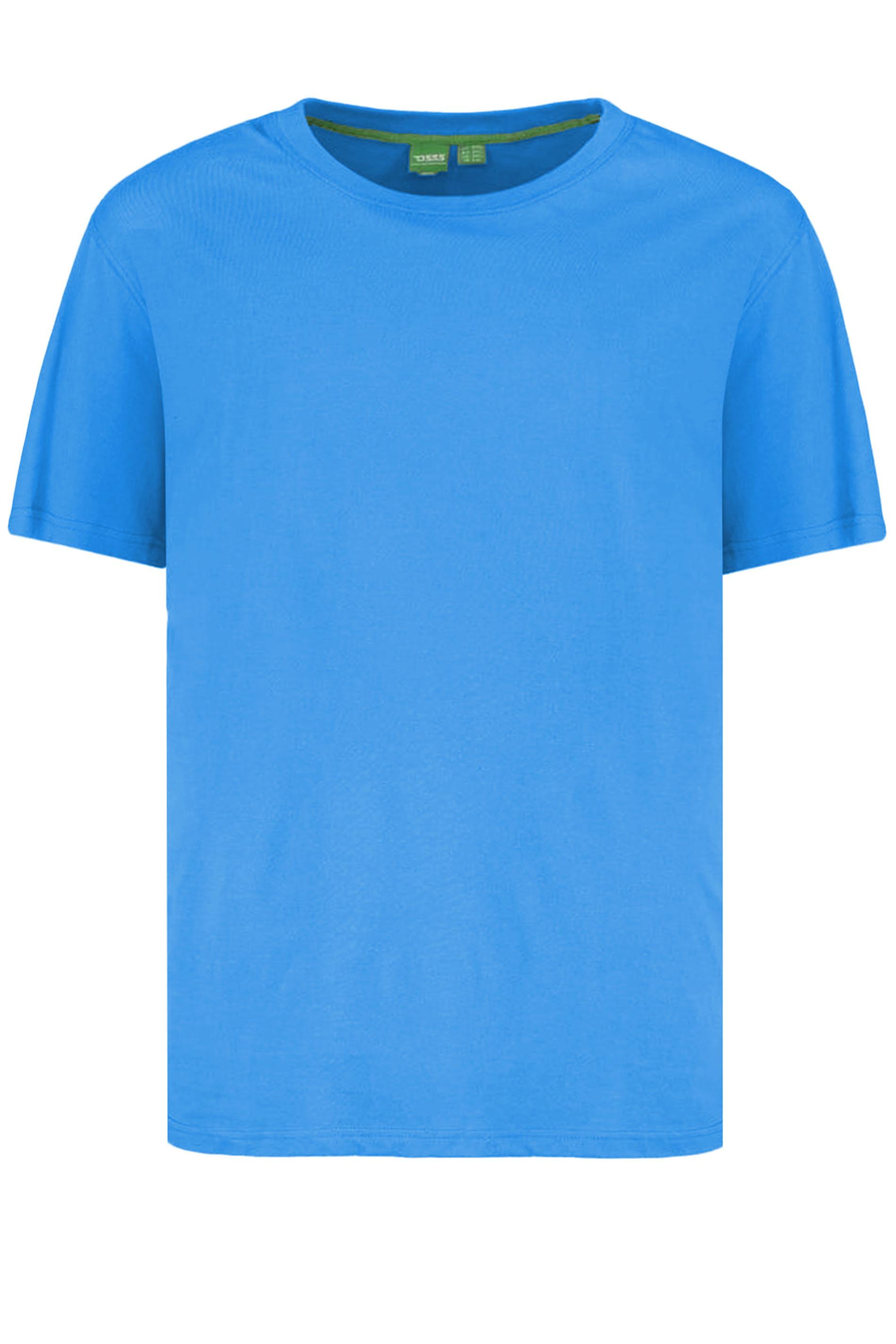 D555 Royal Blue Duke Basic T-Shirt