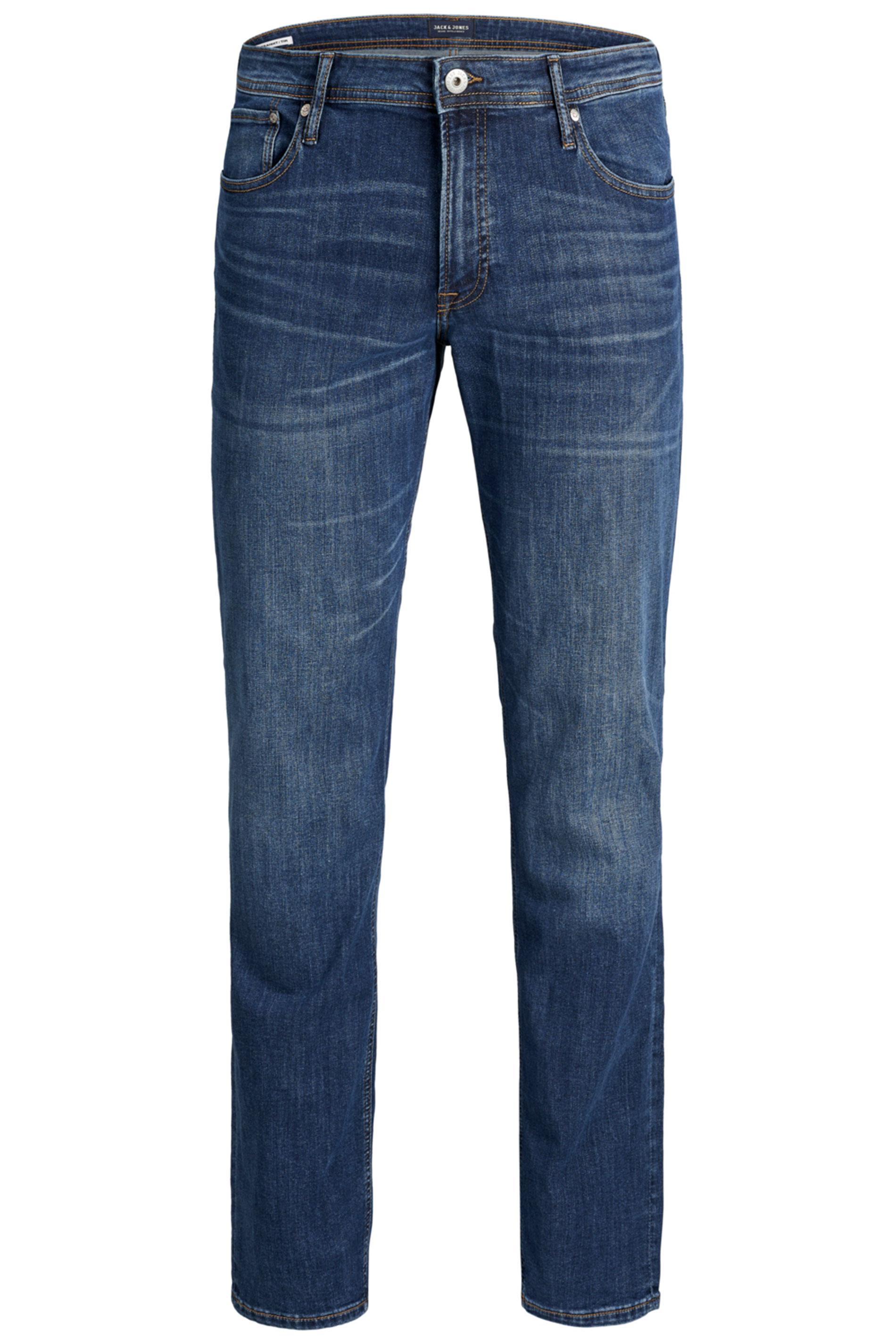 JACK & JONES Blue Tim Original Slim Fit Jeans