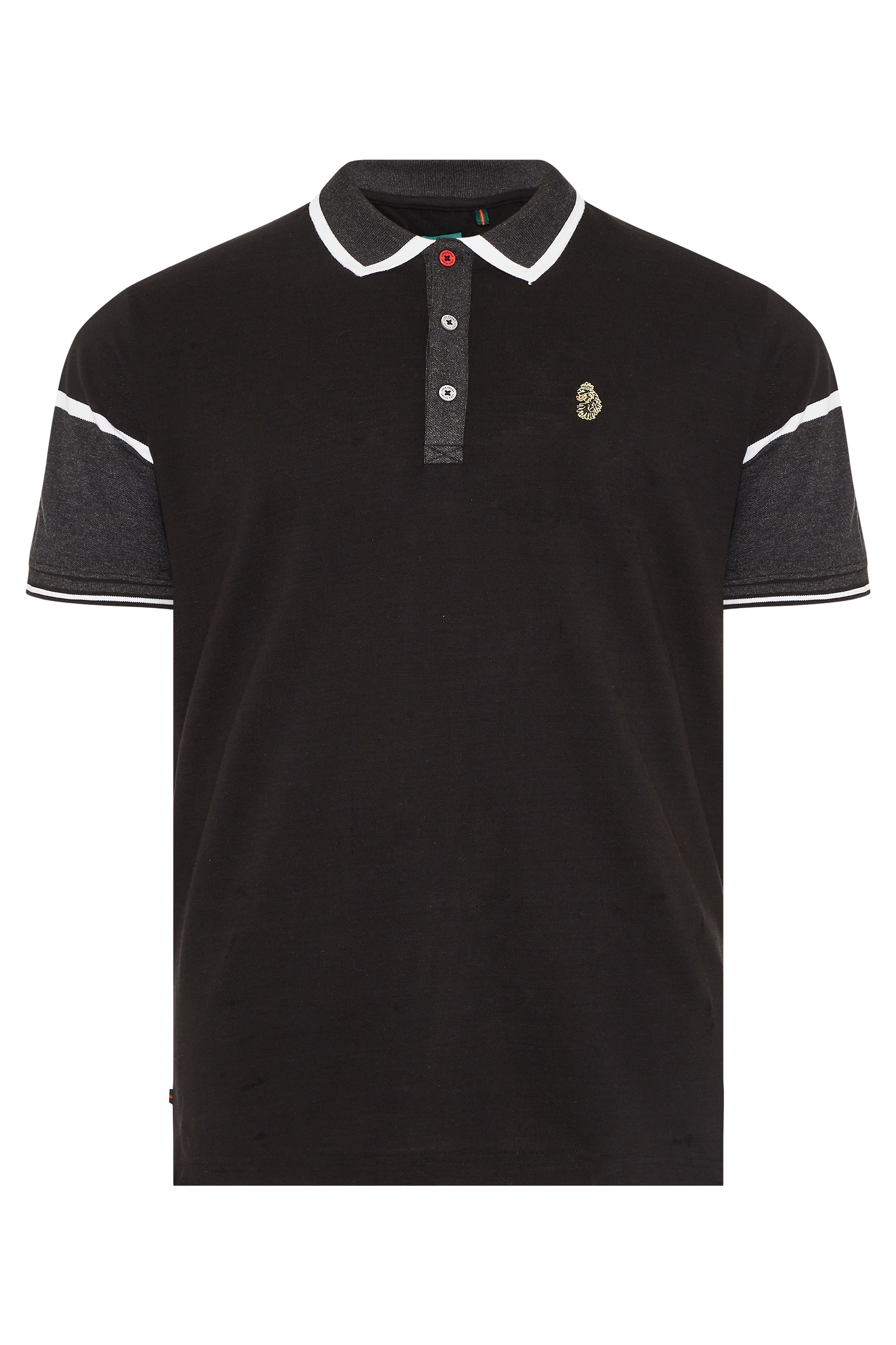 LUKE 1977 Black Boyo Polo Shirt