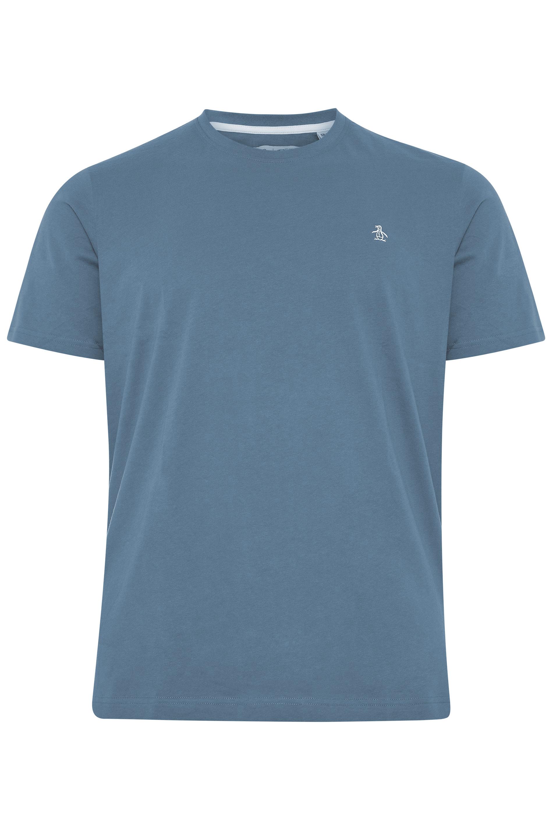 PENGUIN MUNSINGWEAR Blue Crew Neck T-Shirt