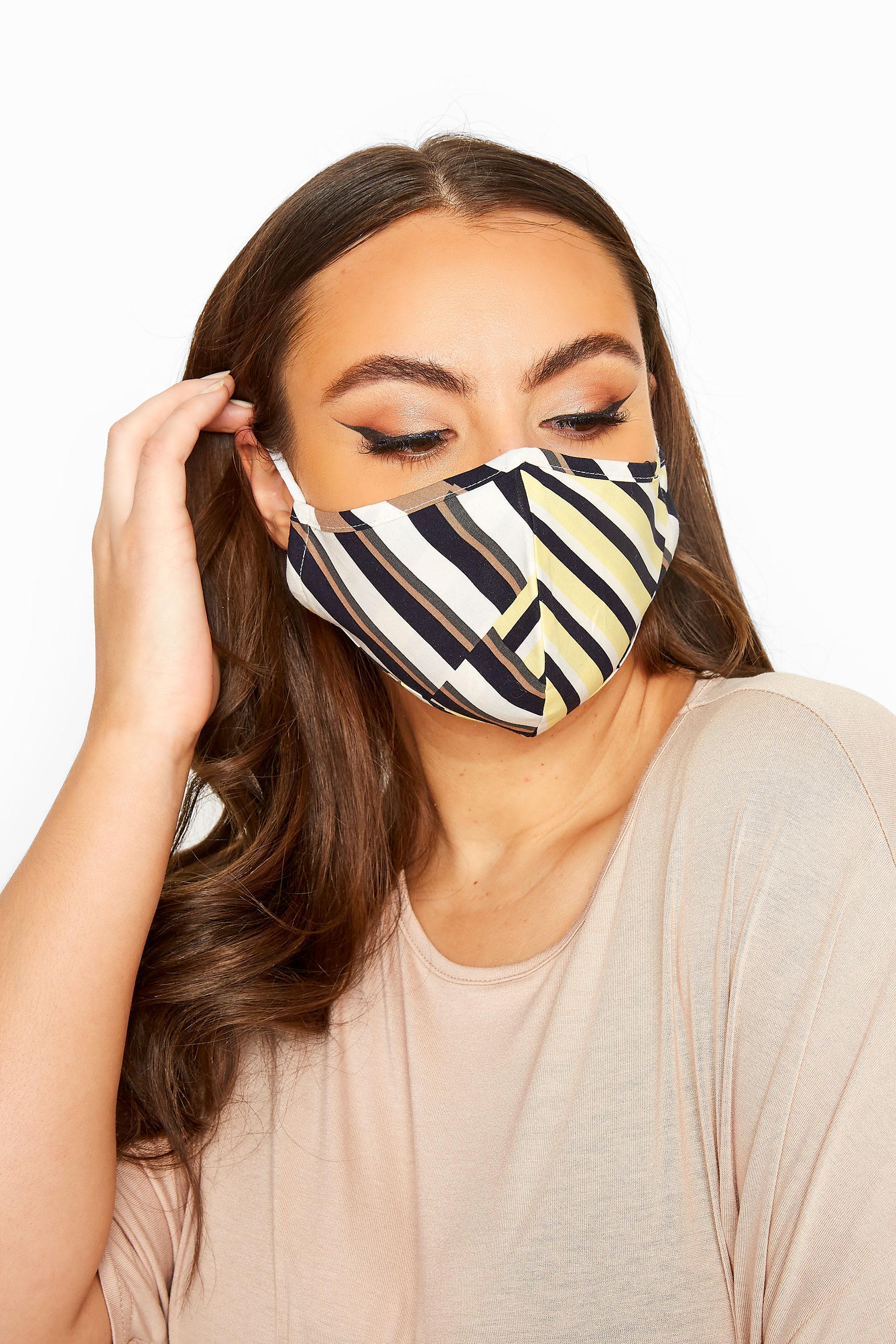 Yours Multi Geometric Antibacterial Face Mask